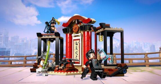 Overmatch Hanzo vs Genji Lego 197 piezas 5