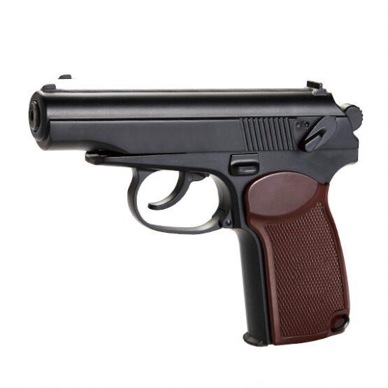 Pistola KWC Mod PM Full Metal 160 mm Cap. 13 tiros Semi Automatica CO2 6 mm 1