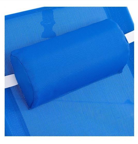 Reposera Plegable Klimber de Aluminio Azul 2