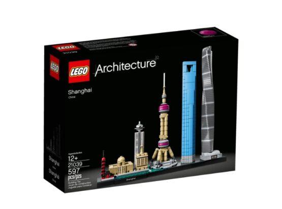 Shanghai Lego Architecture 597 Piezas 2