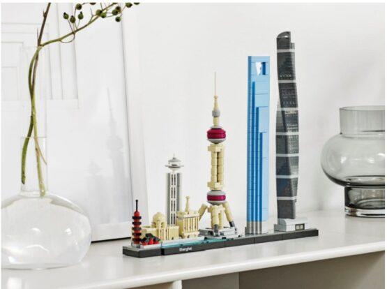 Shanghai Lego Architecture 597 Piezas 4