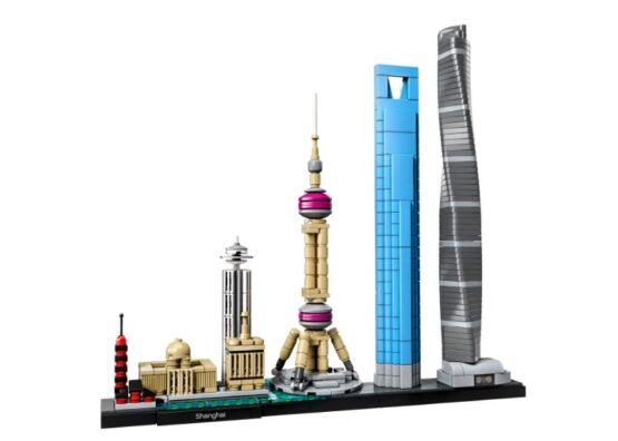 Shanghai Lego Architecture 597 Piezas 1