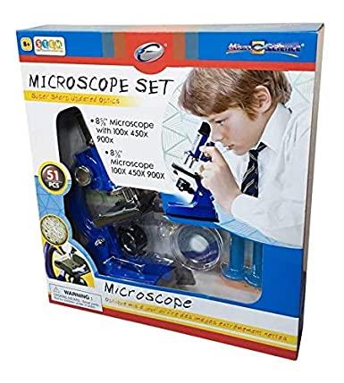 Sistema de Microscopio 100/450/900x 2