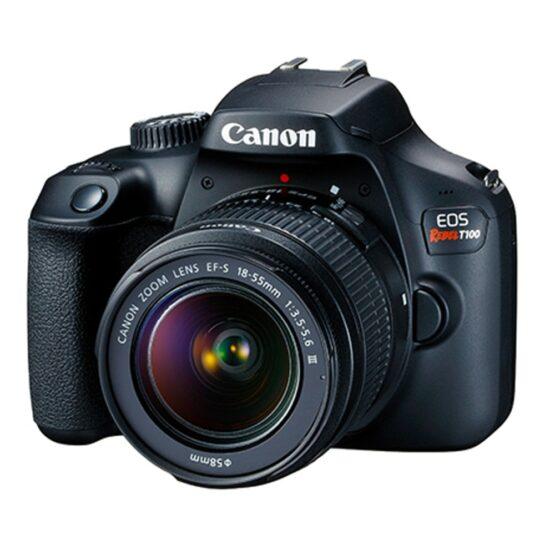 Camara Canon Digital EOS REBELT100 1