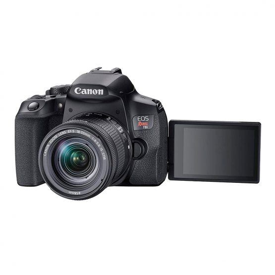 Camara Digital Canon SLR EOS Rebel T8I 5