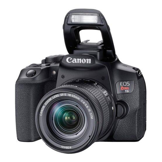 Camara Digital Canon SLR EOS Rebel T8I 6