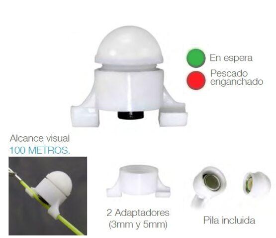 Set de 5 Sensores Luminosos para Caña de Pescar 2