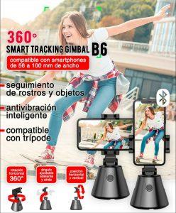 360° Smart Tracking Gimbal B6 9