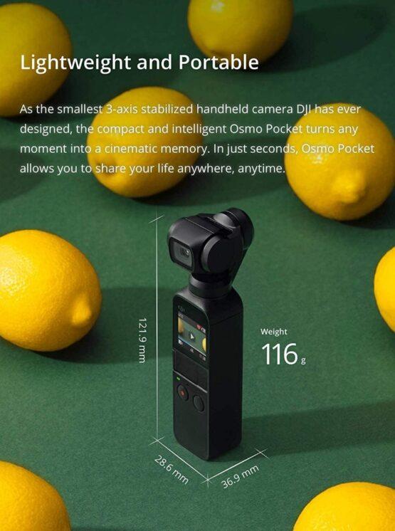 Camara/Estabilizador DJI Osmo Pocket 6