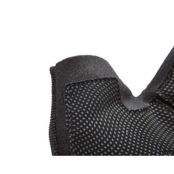 Guante para Entrenamiento Adidas Negro Logo Naranja 4