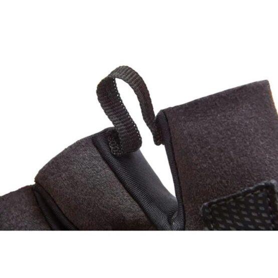 Guante para Entrenamiento Adidas Negro Logo Naranja 5