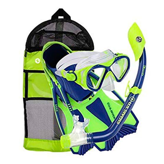 Kit para Agua Niños 6+ Us Divers Mascara + Snorkel + Aletas+Bolso 1
