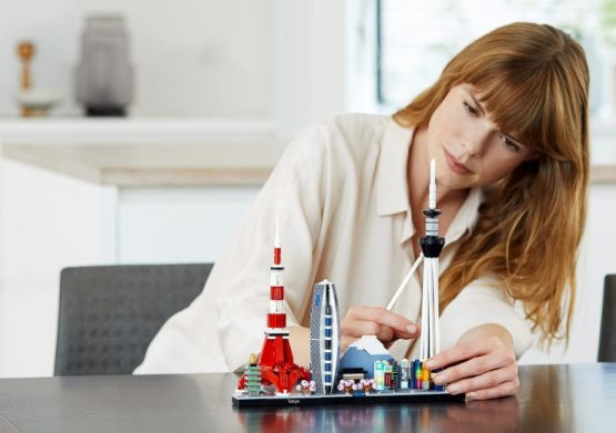 LEGO Architecture Skyline Tokio 3