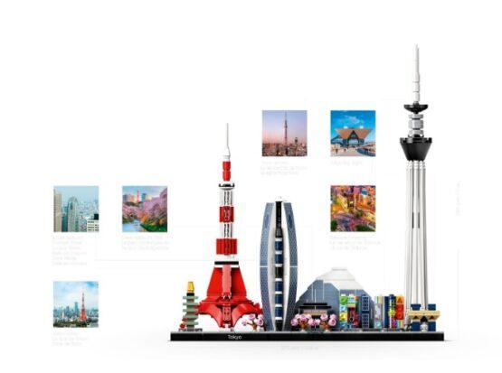 LEGO Architecture Skyline Tokio 4