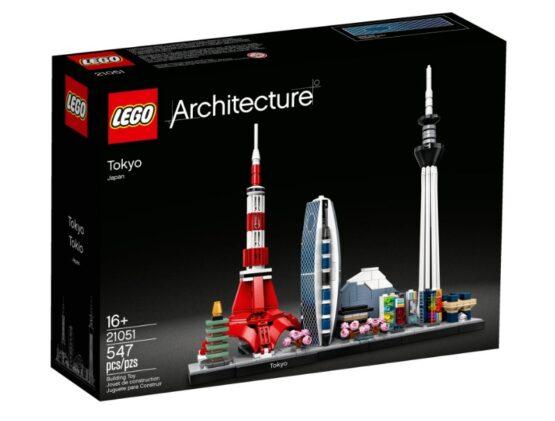LEGO Architecture Skyline Tokio 5