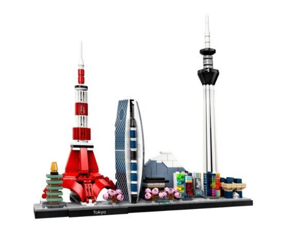 LEGO Architecture Skyline Tokio 1
