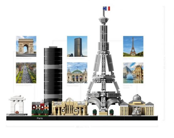 Lego Architecture Skyline Paris 2