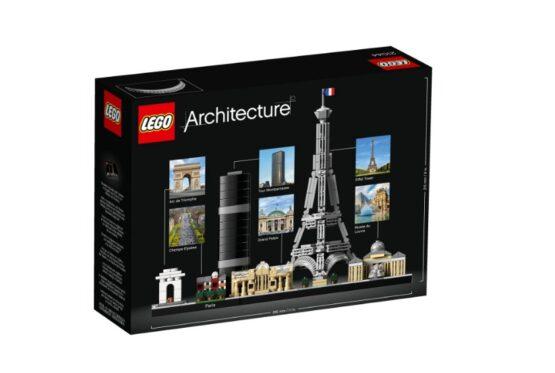 Lego Architecture Skyline Paris 6