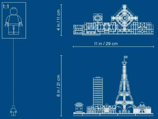 Lego Architecture Skyline Paris 4