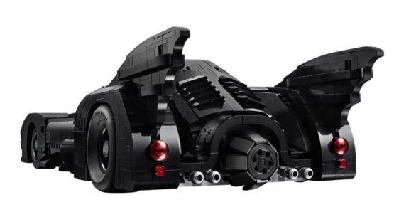Lego DC Batman 1989 Batmobile 4