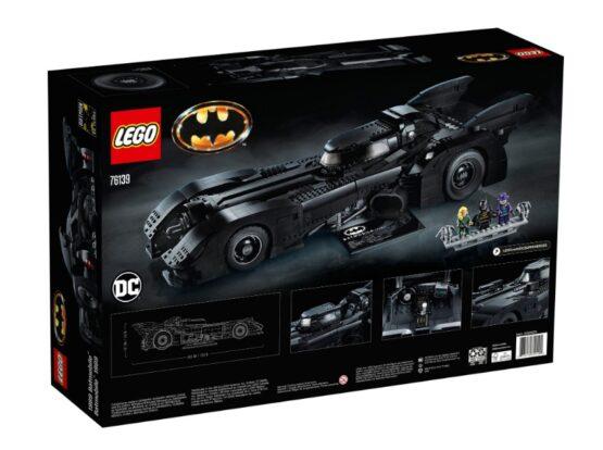 Lego DC Batman 1989 Batmobile 6