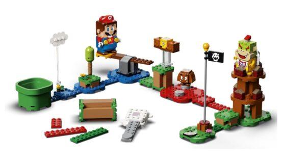 Lego Super Mario Aventuras con Mario Curso de Iniciacion 1