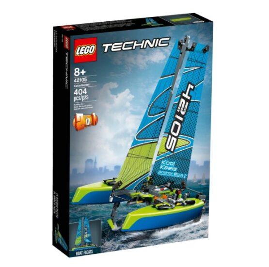 Lego Technic Catamaran 3