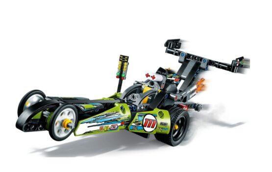 Lego Technic Dragster 2 en 1 4
