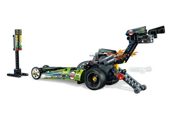 Lego Technic Dragster 2 en 1 5
