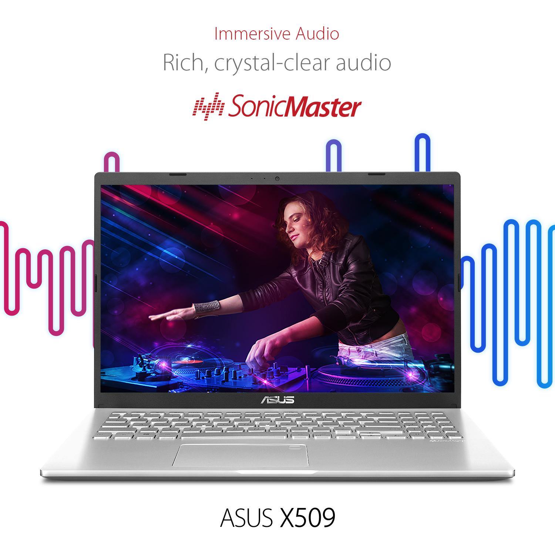 """Notebook Asus X509JA-BR190T 15.6"""" / 8GB / 1 TB 6"""