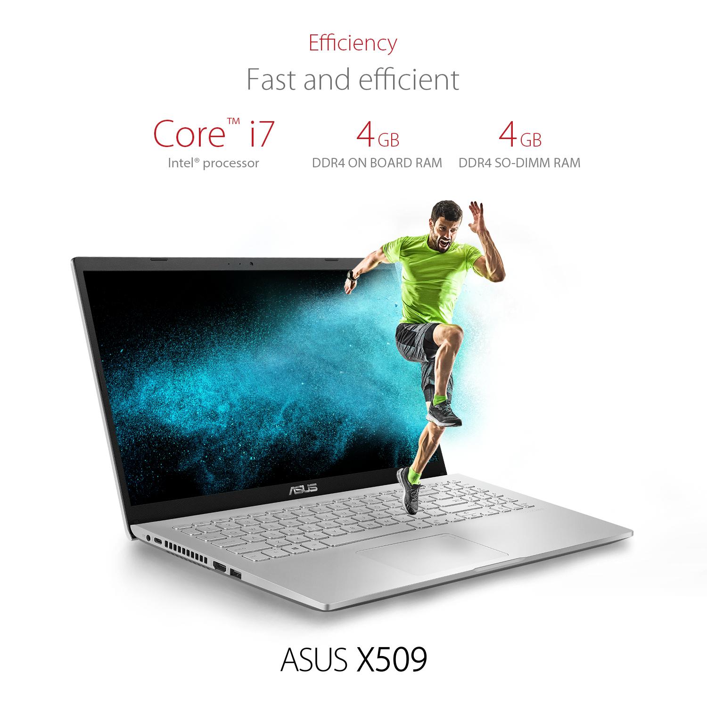 """Notebook Asus X509JA-BR190T 15.6"""" / 8GB / 1 TB 7"""