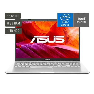 """Notebook Asus X509JA-BR190T 15.6"""" / 8GB / 1 TB 1"""