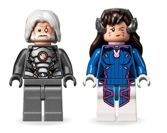 Overmatch D. Va & Reinhardt Lego 3