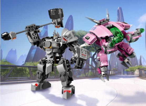 Overmatch D. Va & Reinhardt Lego 4
