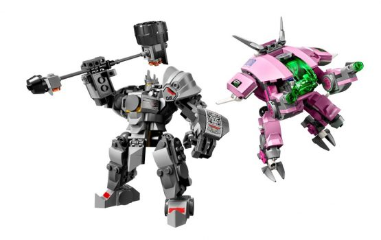 Overmatch D. Va & Reinhardt Lego 1