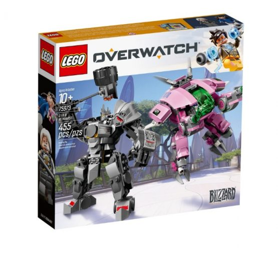 Overmatch D. Va & Reinhardt Lego 2
