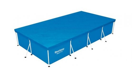 Piscina Rectangular + Cobertor Bestway Cap. 5700 L 2