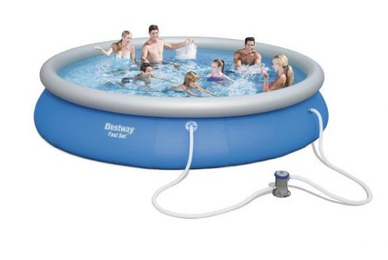 Piscina Inflable Bestway 457 x 84 cm 9677 L con Bomba 1
