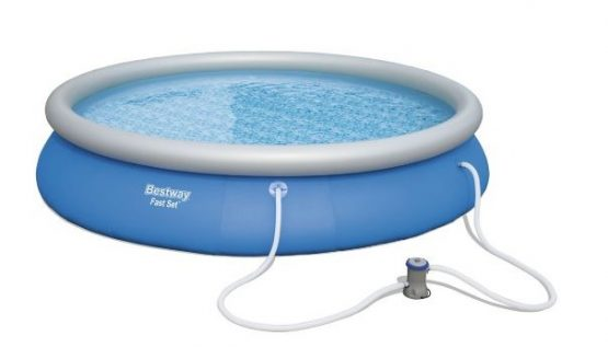 Piscina Inflable Bestway 457 x 84 cm 9677 L con Bomba 2