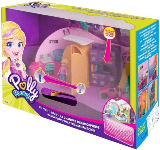 Polly Pocket Cuarto Transformable 8