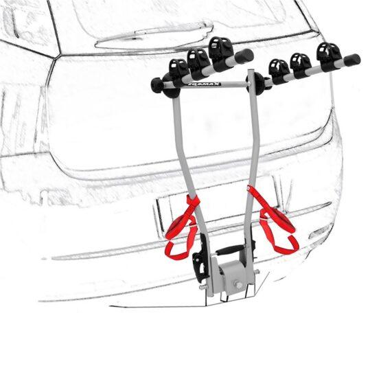 Porta Bicicleta de Maletero Eqmax C3X 3