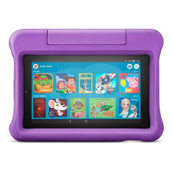 Tablet Para Niños Amazon 7 1gb 16gb Funda Con Soporte 9