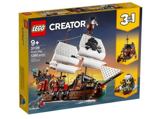 Lego Creator 3 en 1 Barco Pirata 3