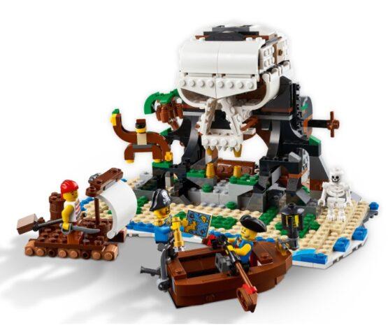 Lego Creator 3 en 1 Barco Pirata 4