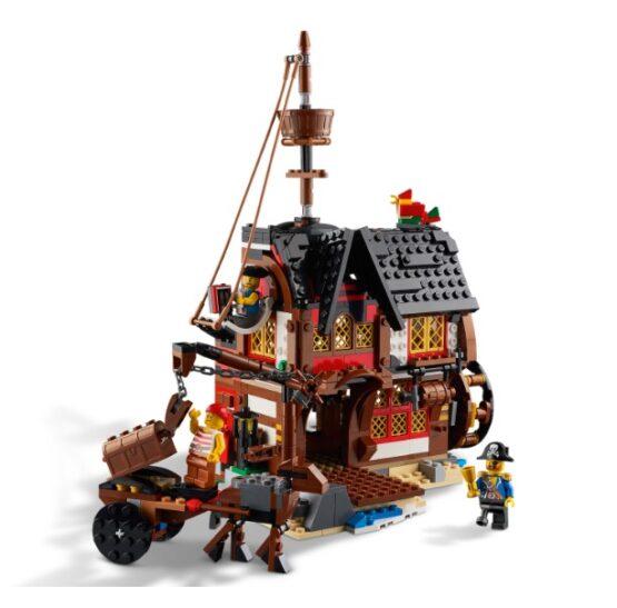 Lego Creator 3 en 1 Barco Pirata 5