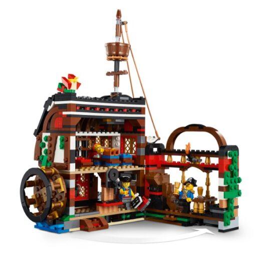 Lego Creator 3 en 1 Barco Pirata 6