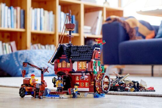 Lego Creator 3 en 1 Barco Pirata 8