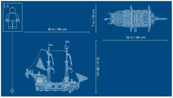 Lego Creator 3 en 1 Barco Pirata 9