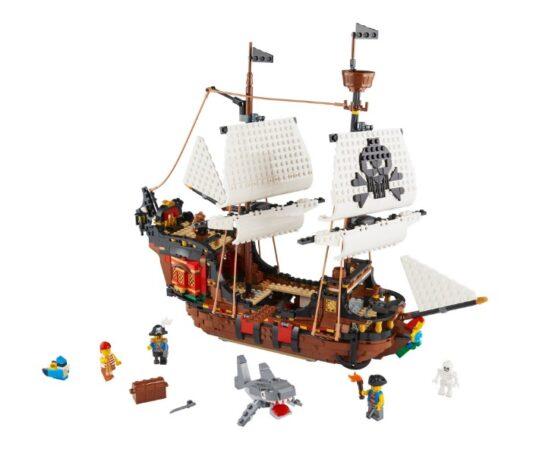 Lego Creator 3 en 1 Barco Pirata 2