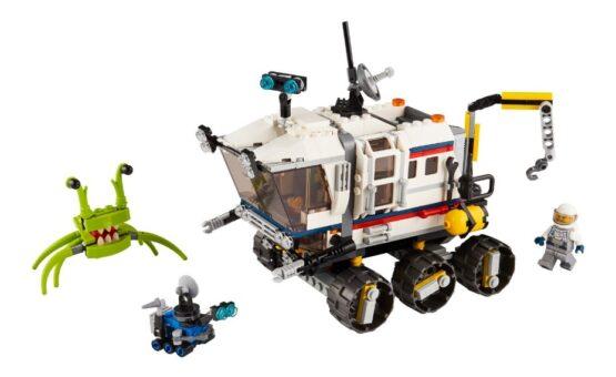 Lego Creator 3 en 1 Explorador de Space Rover 2